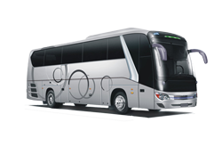 AC 45 Seater Luxury Bus (45 + 1D)