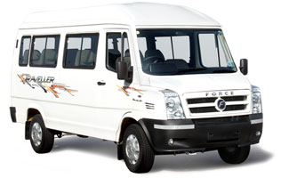 13 Seater AC Force Traveller