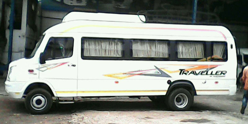 Hire 18 Seater Ac Luxury Tempo Traveller In Odisha Patra