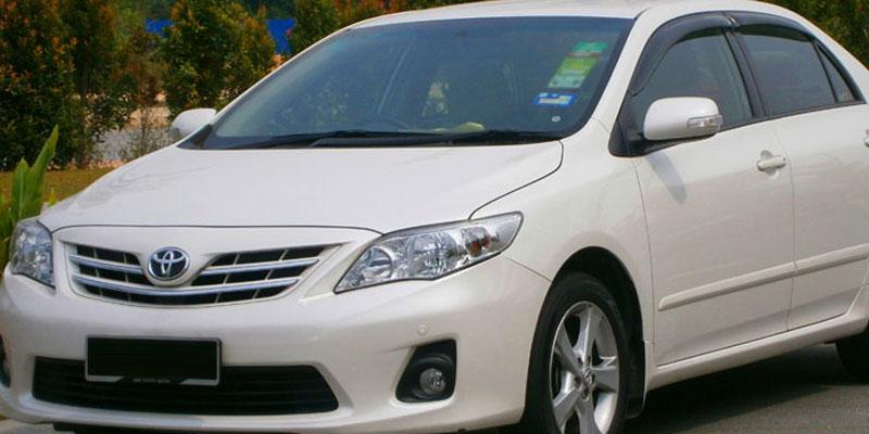 AC Corolla Altis (4+1 Driver)