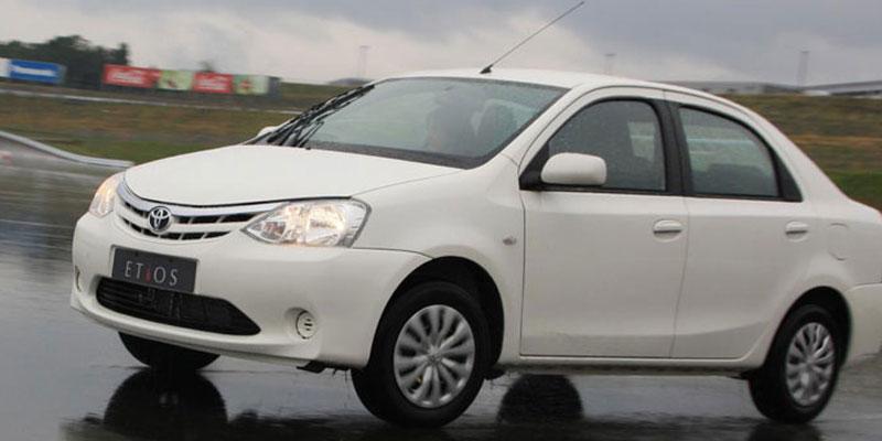AC Toyota Etios (4 + 1 Driver)