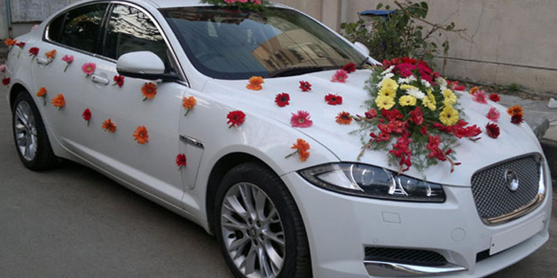 Jaguar XF for Wedding