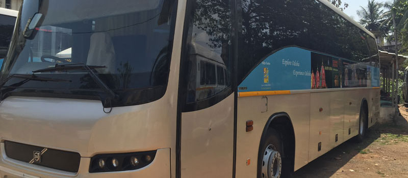 Hire Volvo 45 Seater Ac Bus In Odisha Bus Hire In Bhubaneswar Puri