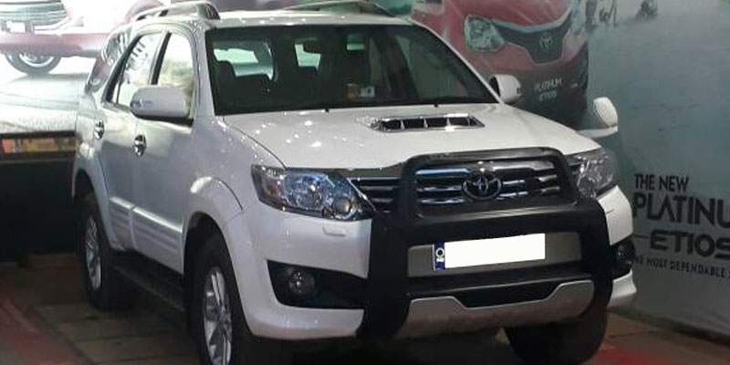 Hire Toyota Fortuner Car In Odisha Car Hire In Odisha Patra Taxi