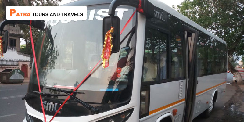 18-Seater-SML-Isuzu-in-Odisha-Patra-Tours-And-Travels