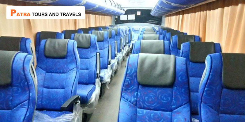 Hire 44 Seater Luxury Bus Coach in Odisha