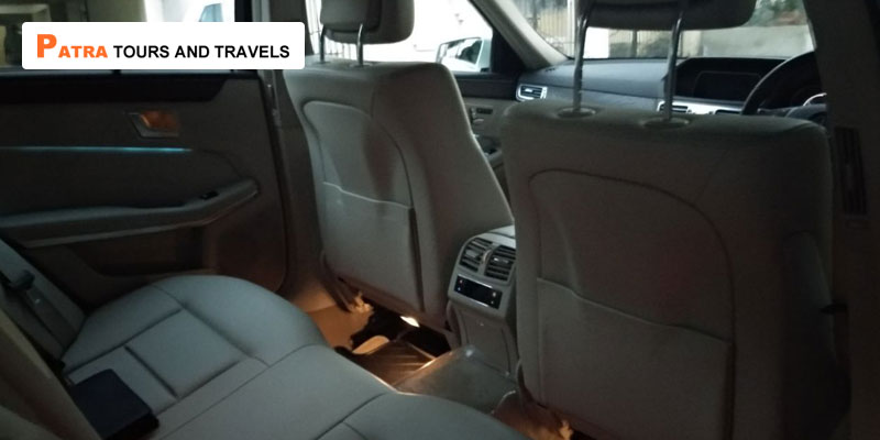 Mercedes-E250-Car-on-Hire-Interior-Patra-Tours-And-Travels