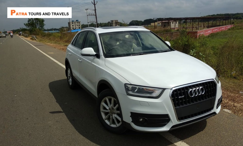 Book Luxury Car on Hire Audi Q3 - Patra Tours And Travels