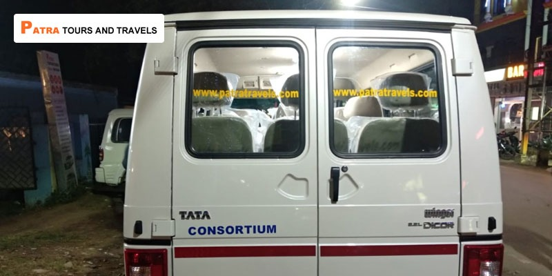 9 Seater Luxury Tata Winger Van in Bhubaneswar - Patra Tours And Travels