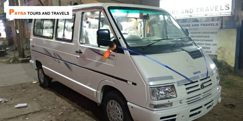 9 Seater Luxury Winger Van in Odisha - Patra Tours And Travels
