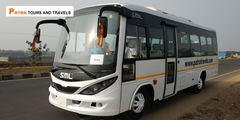 Luxury AC SML Mini Coach 28 seater - Patra Tours And Travels