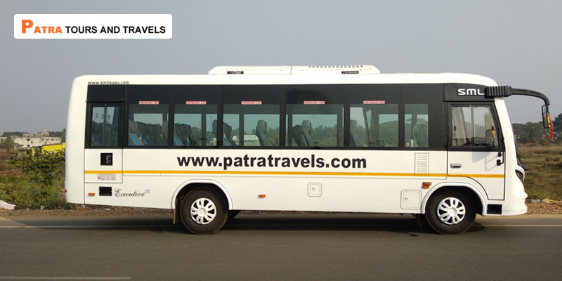 28-Seater-SML-Isuzu-in-Odisha-Patra-Tours-And-Travels