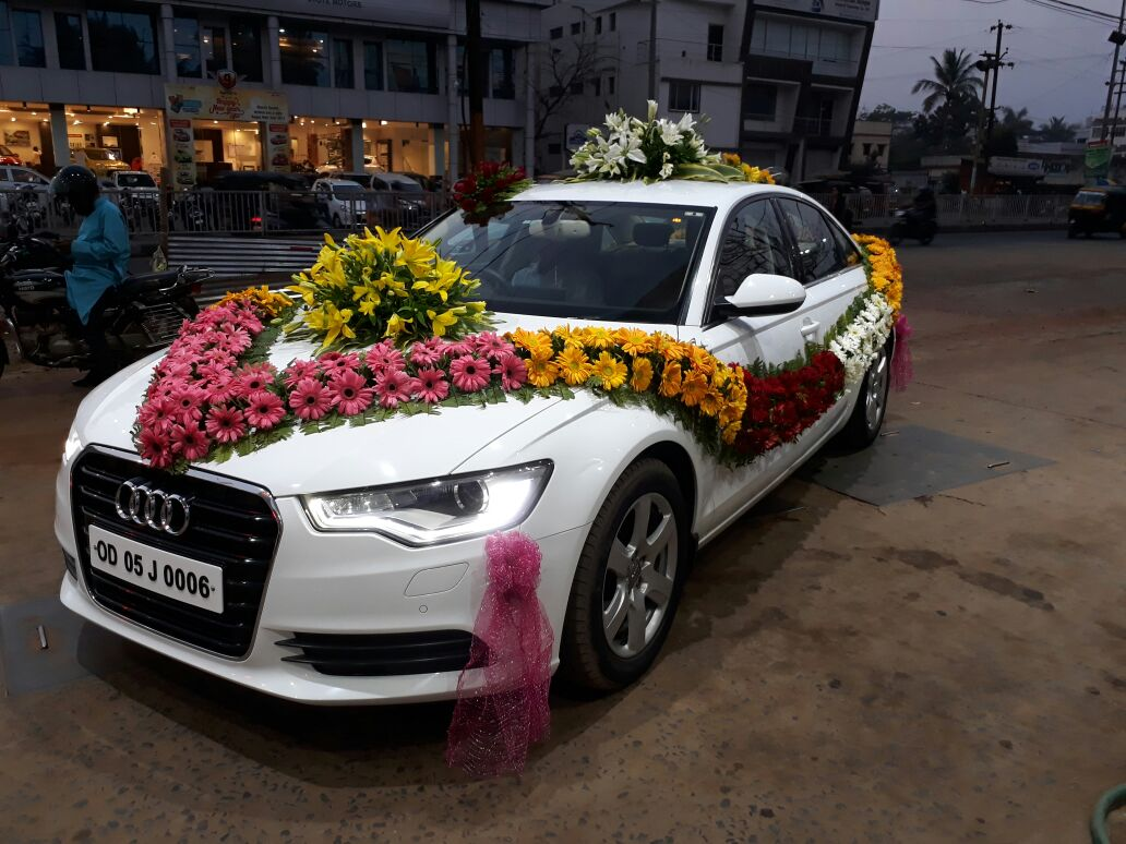 Audi A6 Wedding Car - Patra Tours And Travels