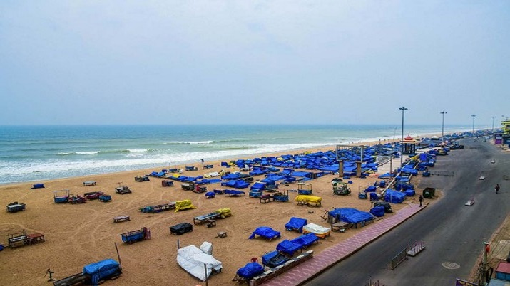 Blue Flag Beach Puri