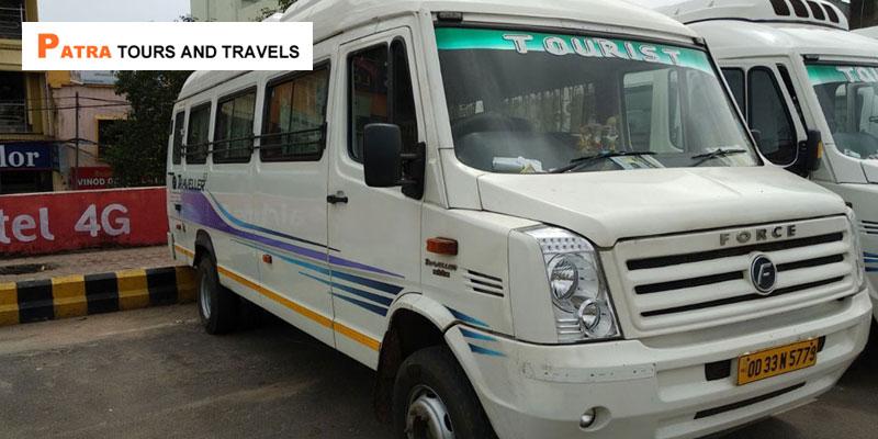 Tempo Traveler Service in Bhubaneswar